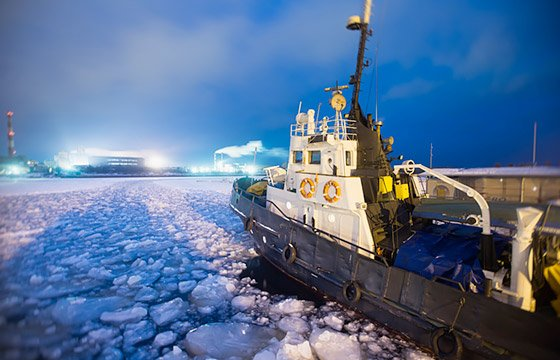 arctic-business-concept