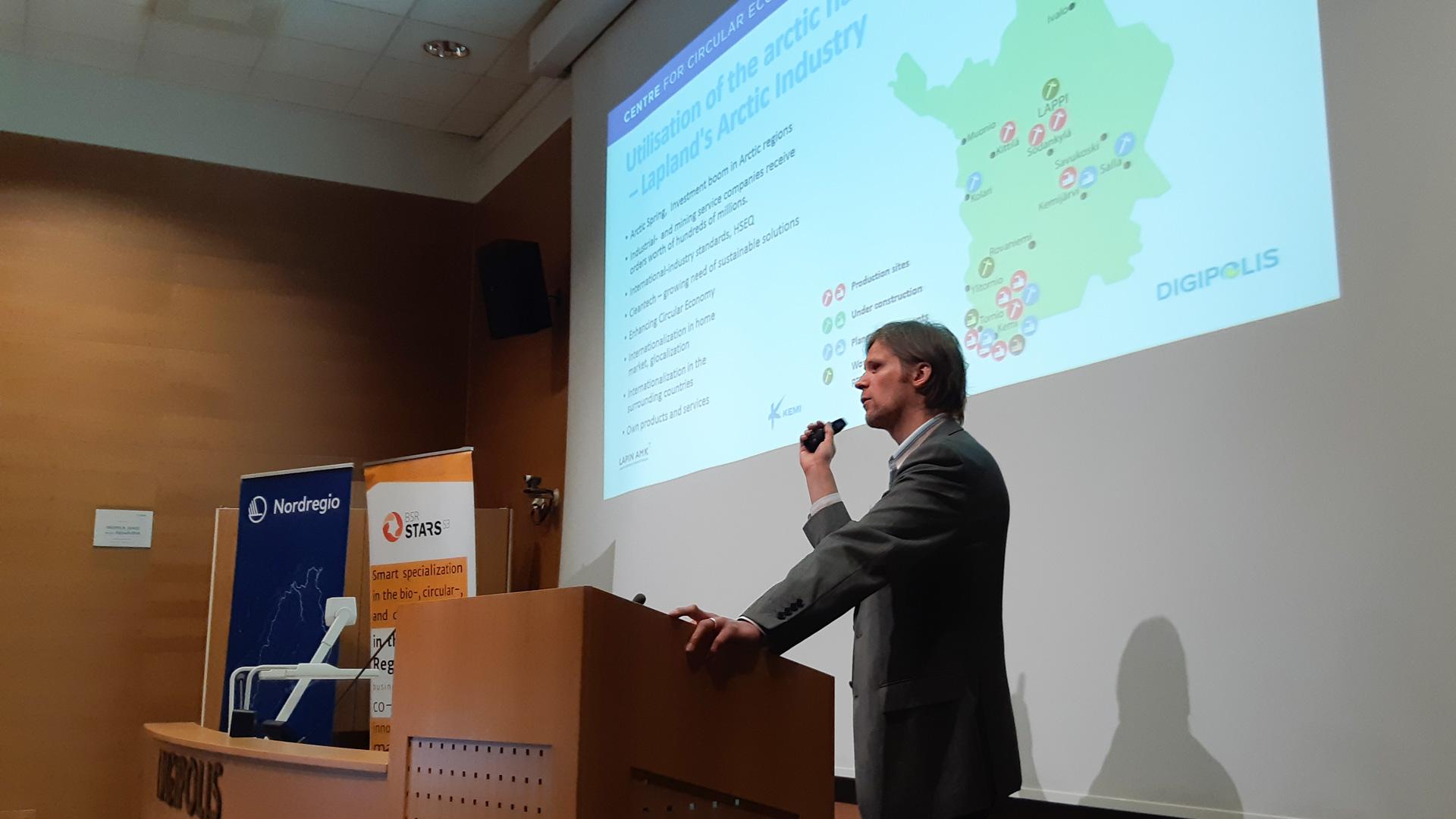 Industrial Circular Economy in Kemi-Tornio region